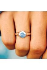 Pura Vida Make Waves Signet Ring