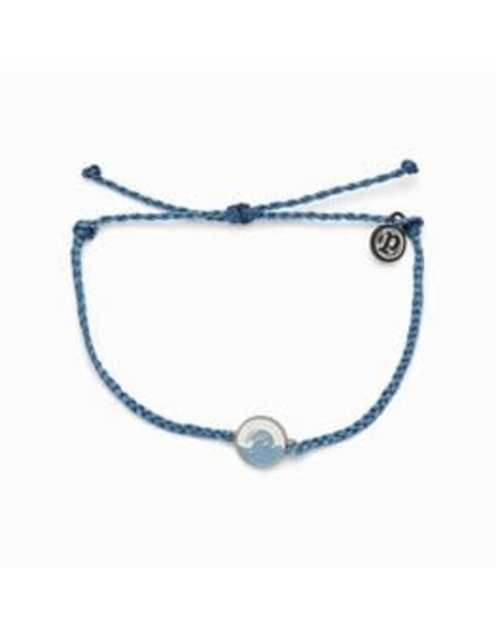Pura Vida Make Waves Silver Bracelet