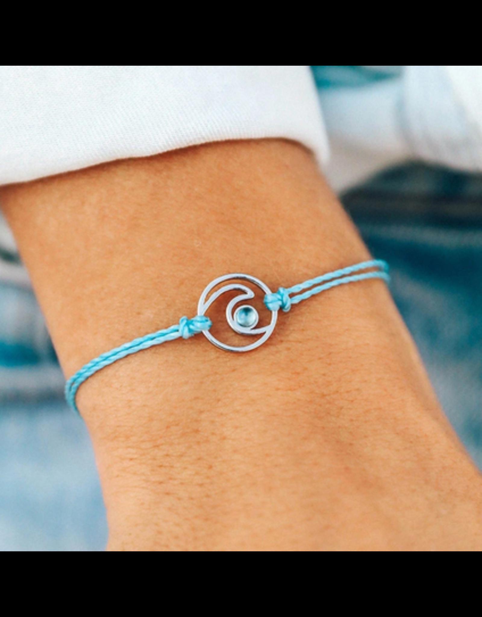 Pura Vida Shimmering Wave Bracelet