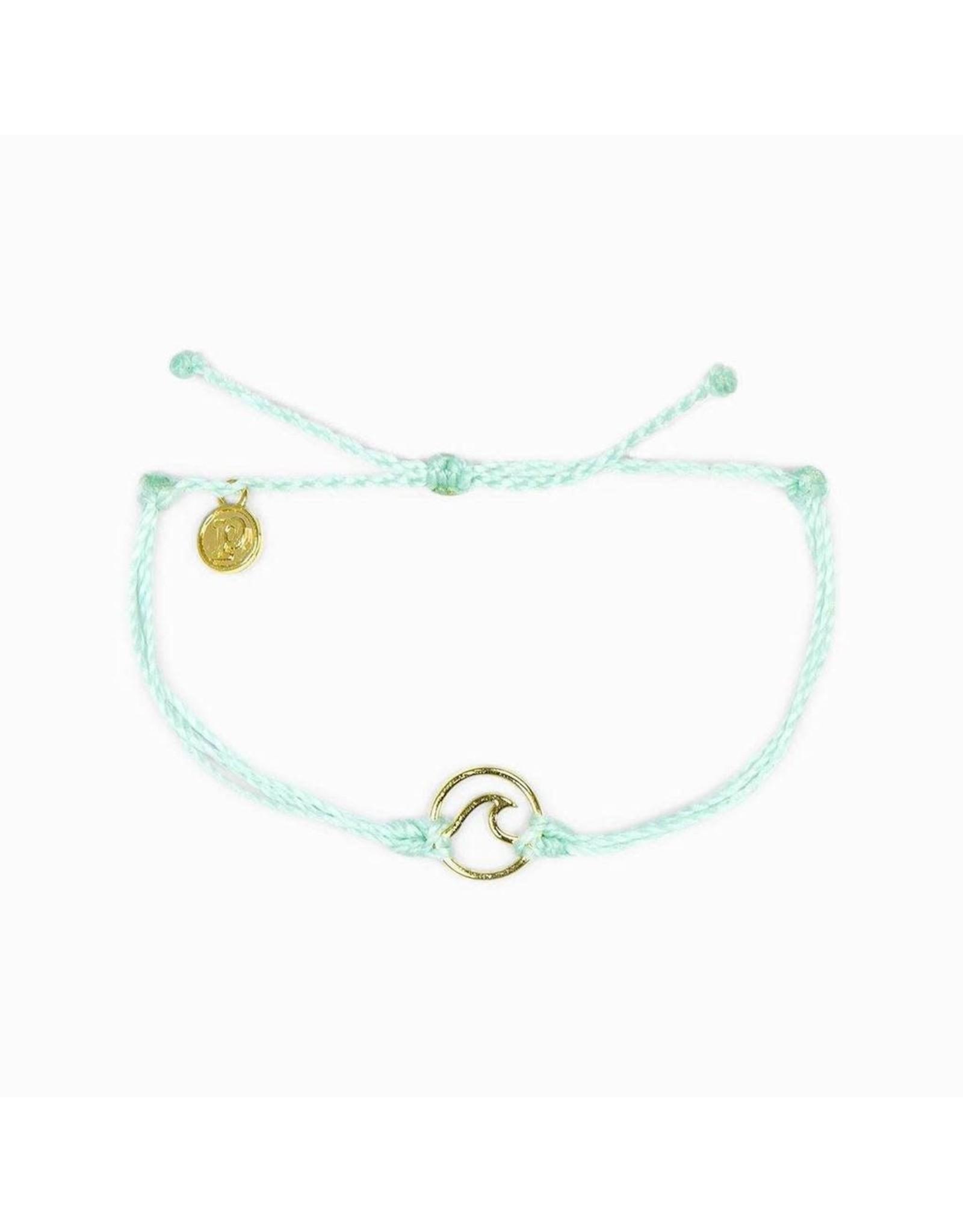 Pura Vida Rose Gold Wave Bracelet