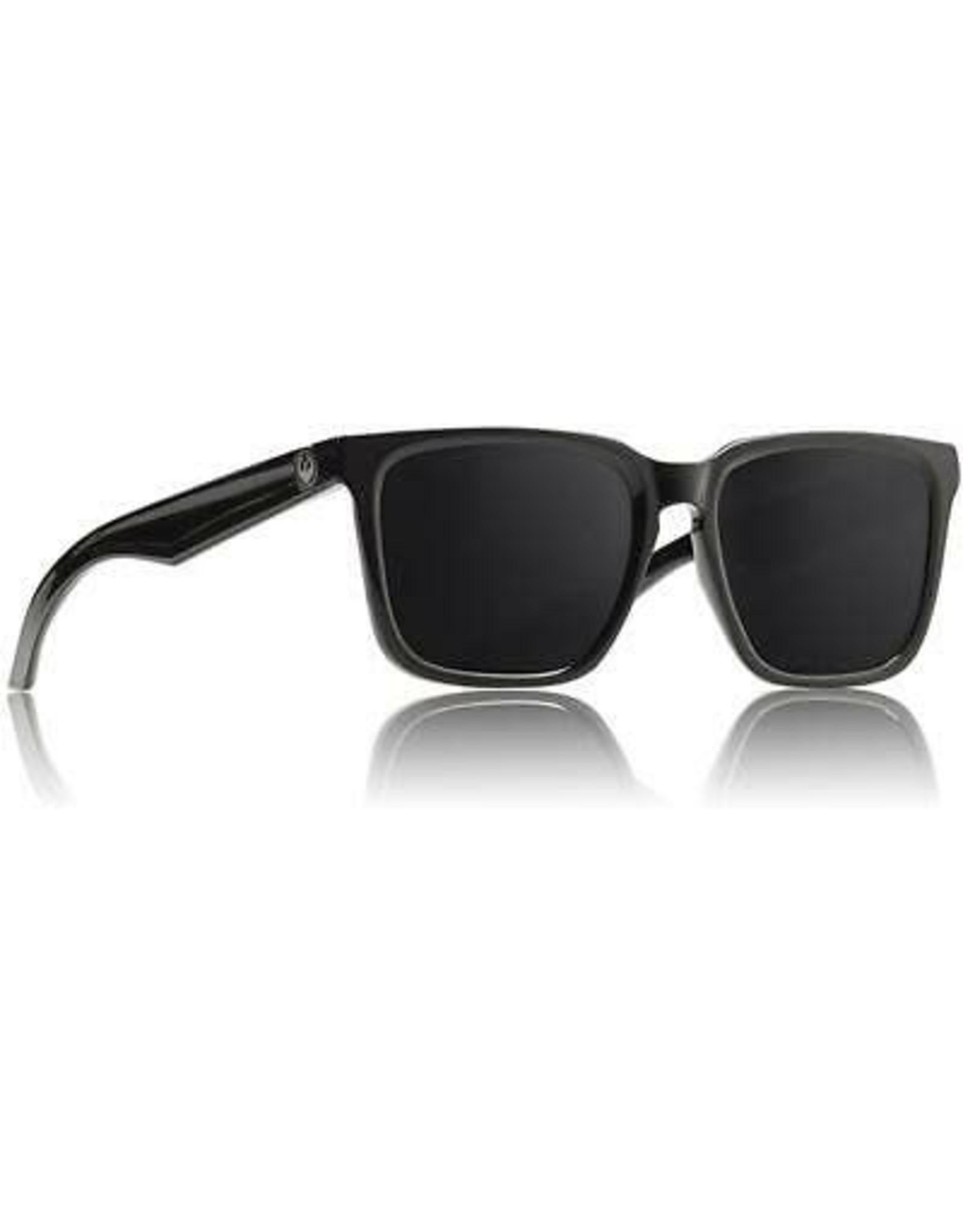 DRAGON Baile Shiny Jet Black/Grey Sunglasses