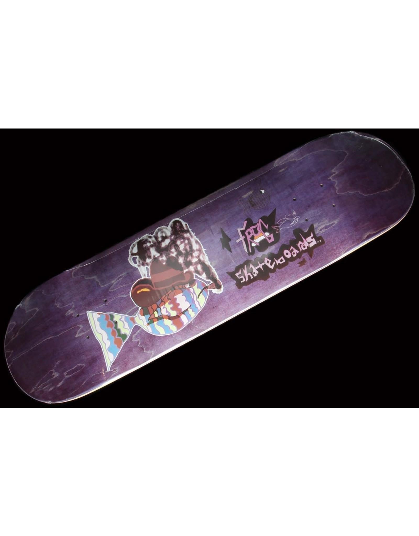 """frog skateboards Smoking Fish Deck (8.25"""")"""