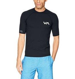 RVCA Short Sleeve Rash Guard