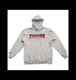 THRASHER Blood Drip Logo Hoodie