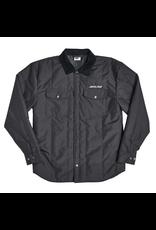 Santa Cruz Over Shirt Jacket STrip Logo - Black