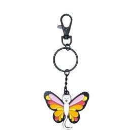RIP N DIP Butterfly Nerm Keychain