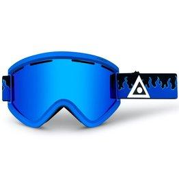 Ashbury Blue Flame Goggles