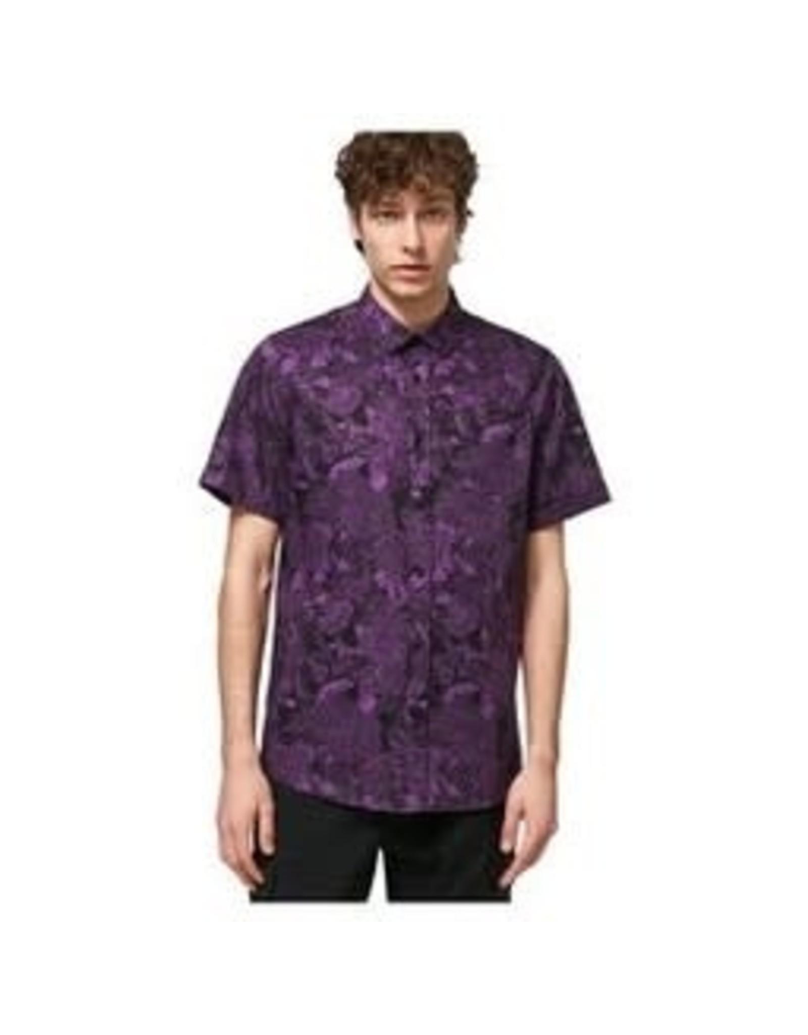 OAKLEY All Over Dark Floral Shirt