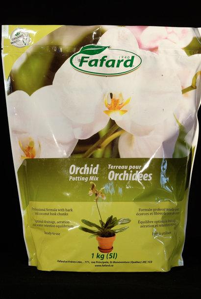 Terreau pour orchidées