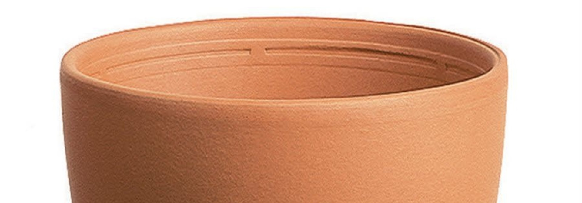 Mangiatoia terracotta 19 cm bol