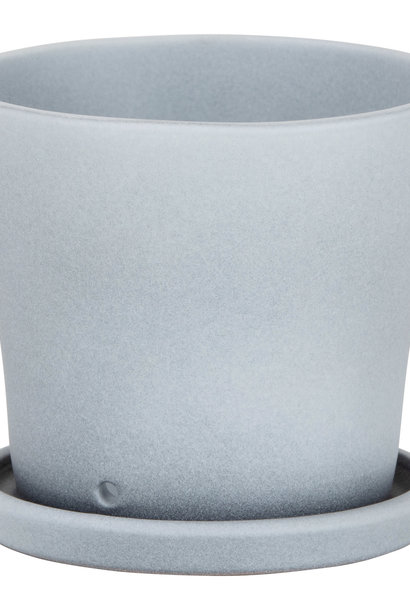 Pot soucoupe Grey stone
