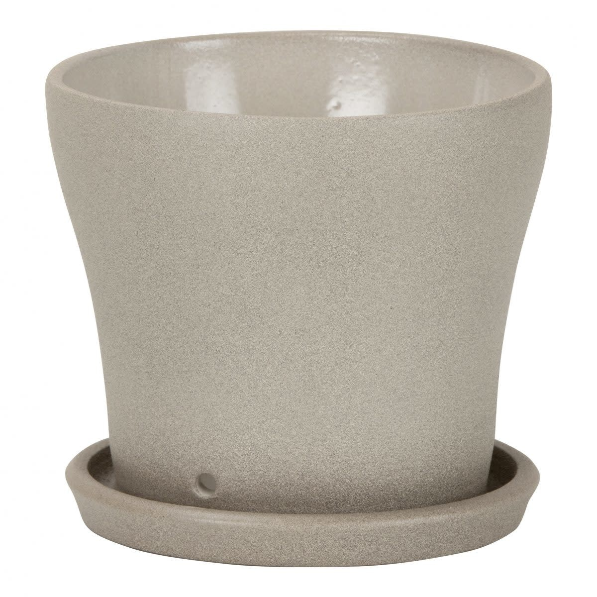 Pot soucoupe taupe stone-1