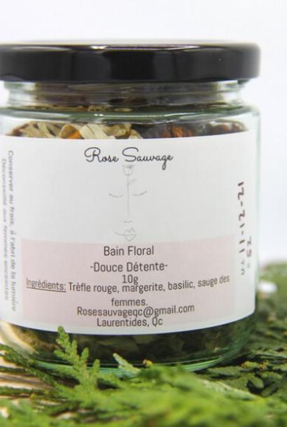 Bain Floral ''Connexion à la Féminité''