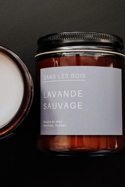 Lavande sauvage - Bougie