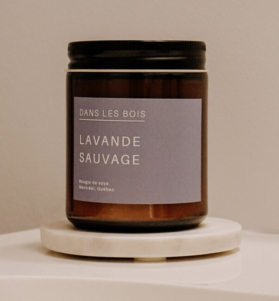 Lavande sauvage - Bougie-2