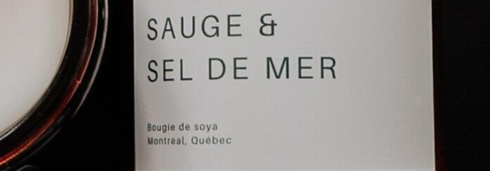 Sauge & Sel de mer - Bougie