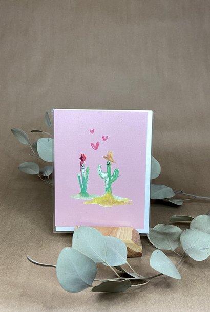 Cactus Love - Carte