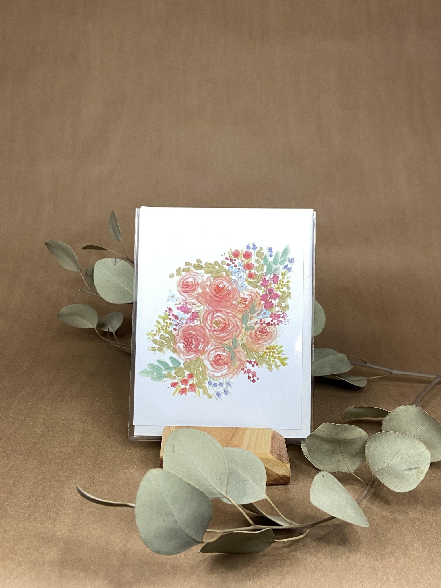 Douce floraison - Carte-1