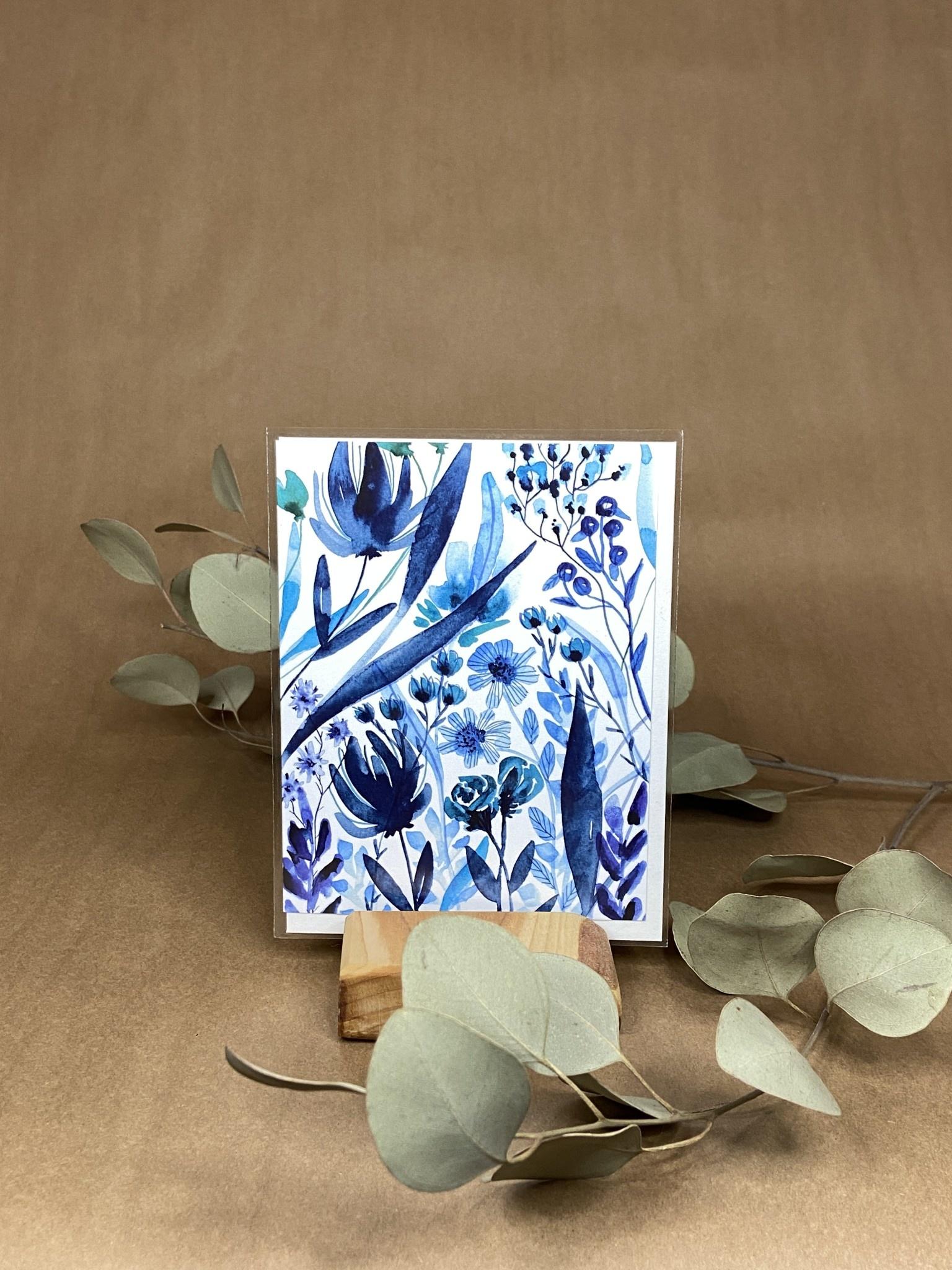 La vie en bleu - Carte-1