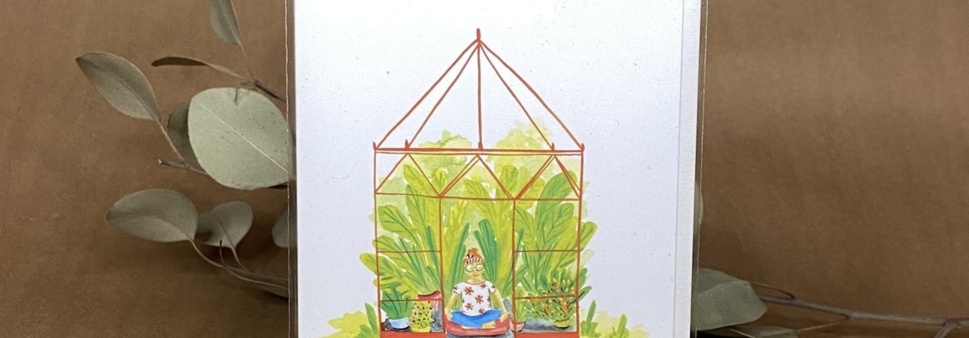 Yoga plante - Carte