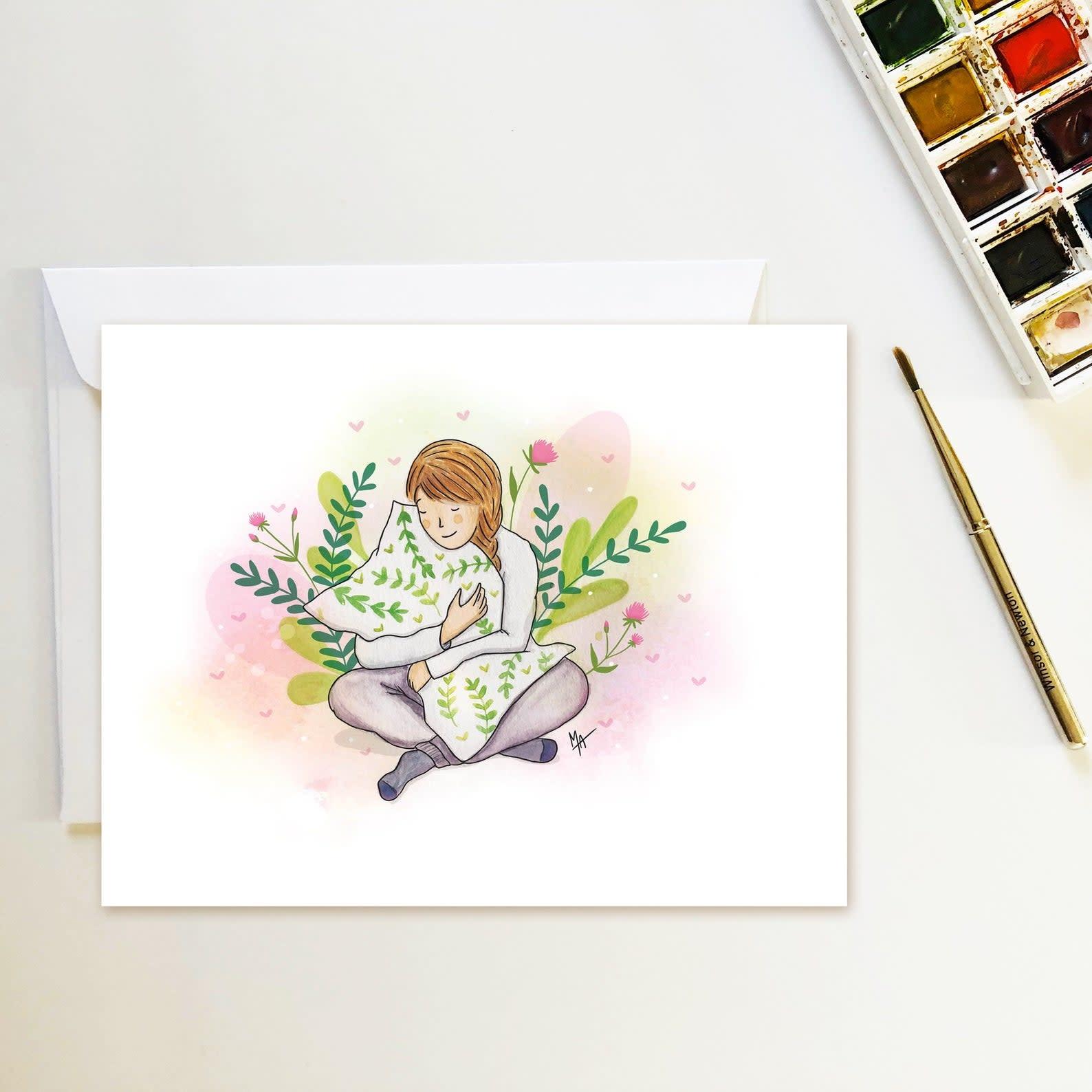 Carte Filles fleuries-1