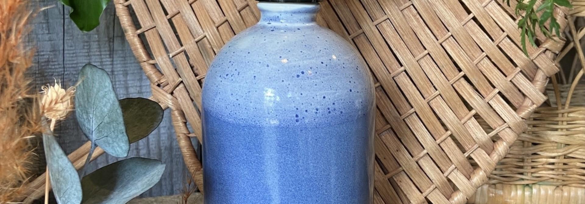 Vaporisateur bleu