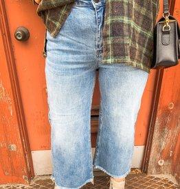 Frayed Wide Leg