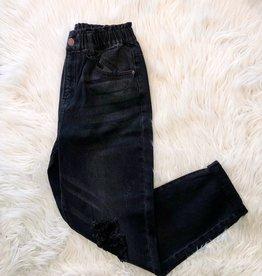 Black Vintage Mom Jeans