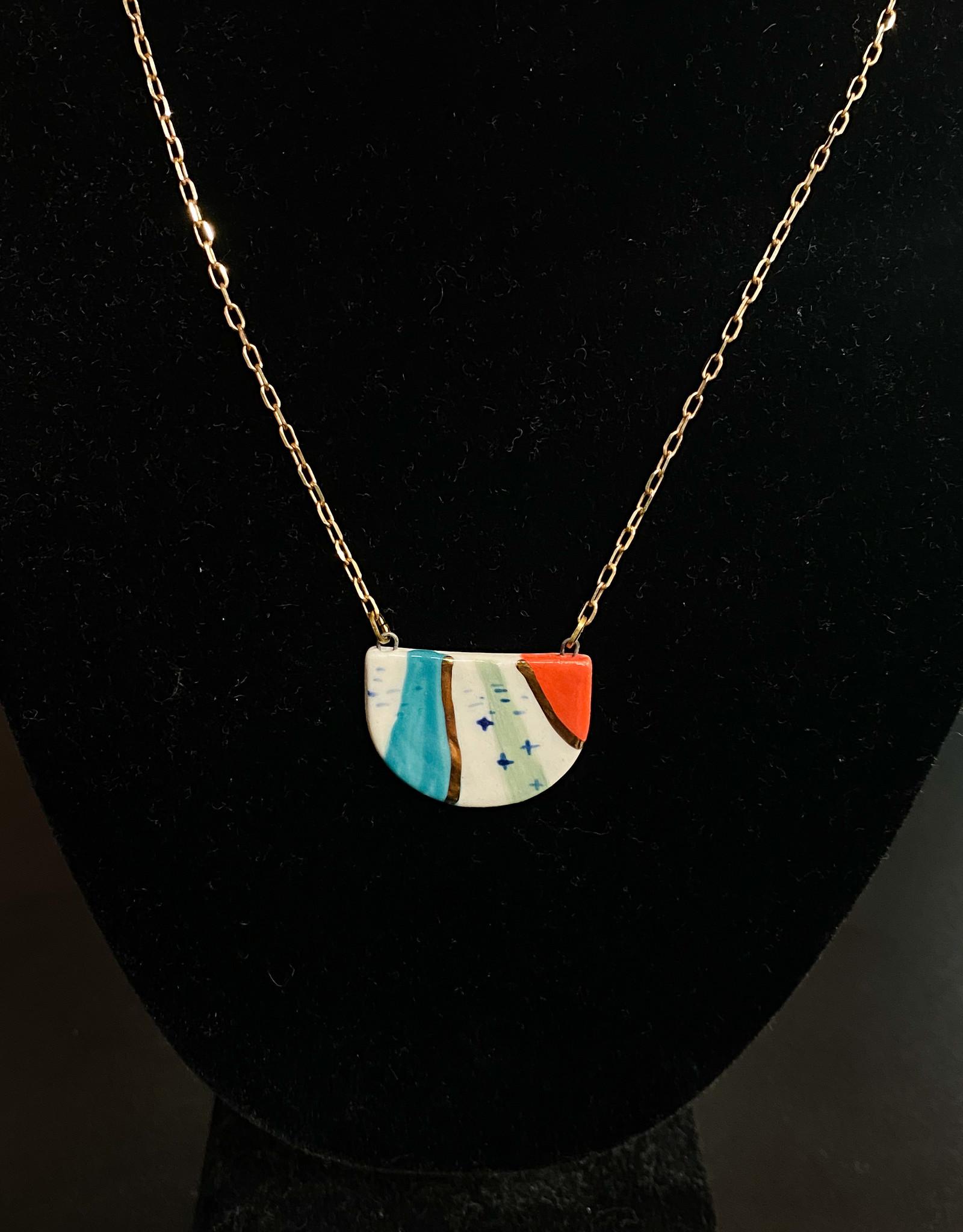 Colorful Pendant Necklace