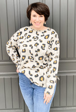 Leopard Crewneck Long Sleeve