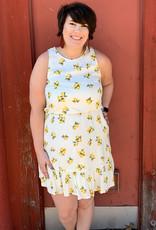 Ruffle Lemon Dress