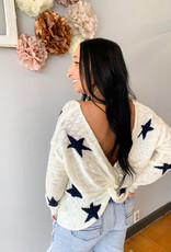 Twisted Stars Sweater
