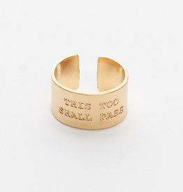 This Too Shall Pass Ring