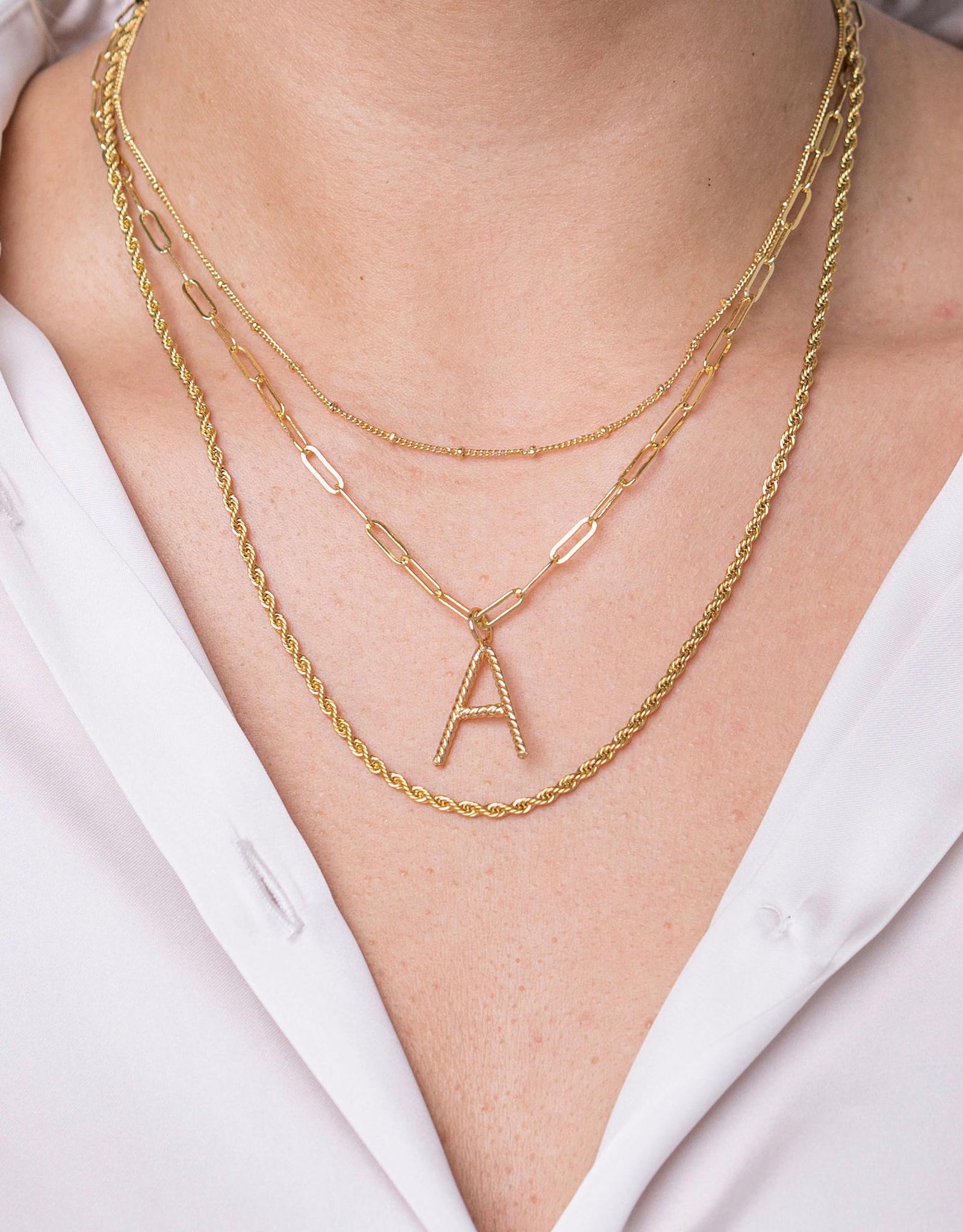 Aspen Initial Necklace