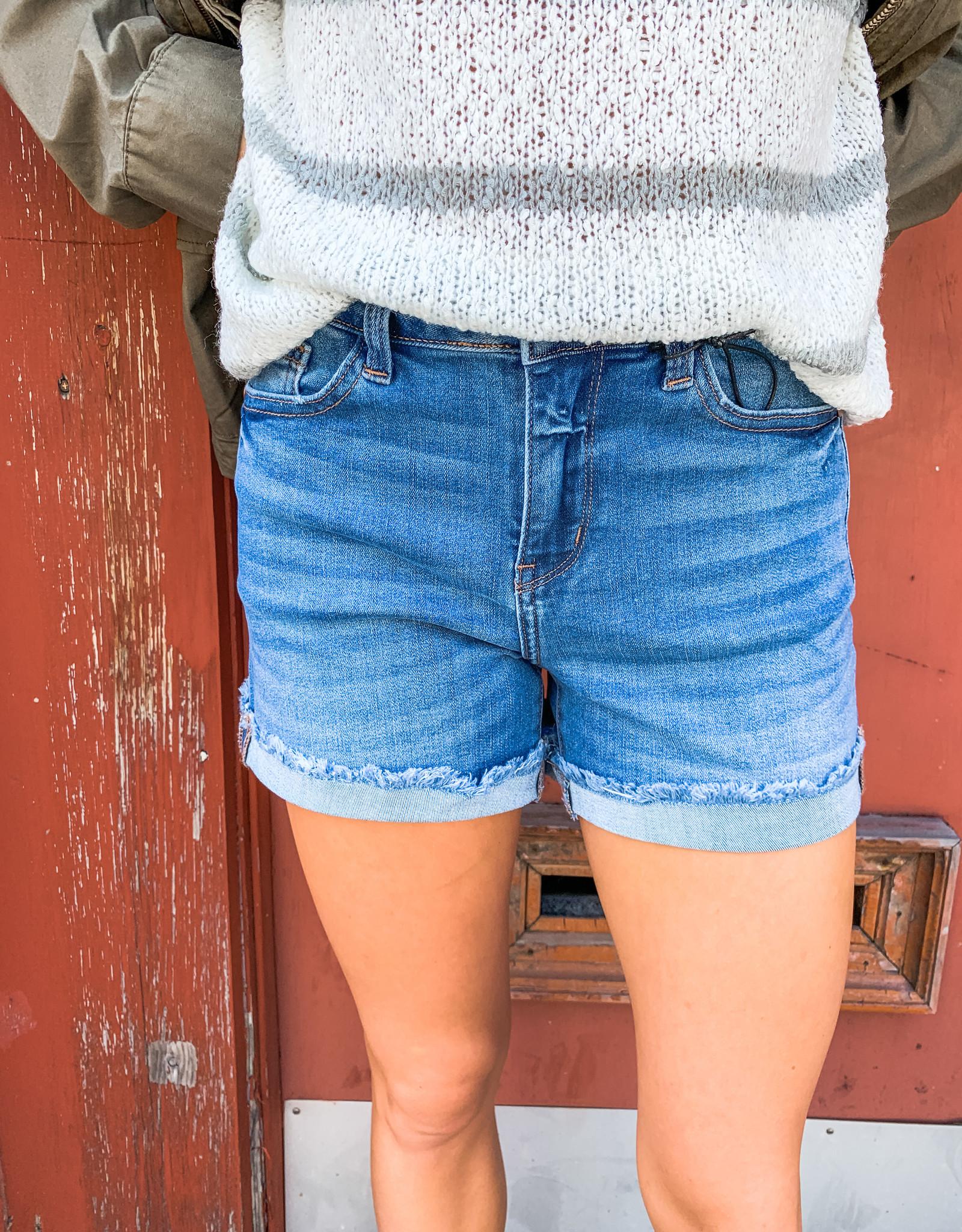 Classic Cuffed Shorts