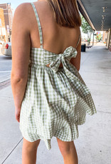 Fern Gingham Dress