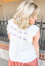 James Embroidered Blouse