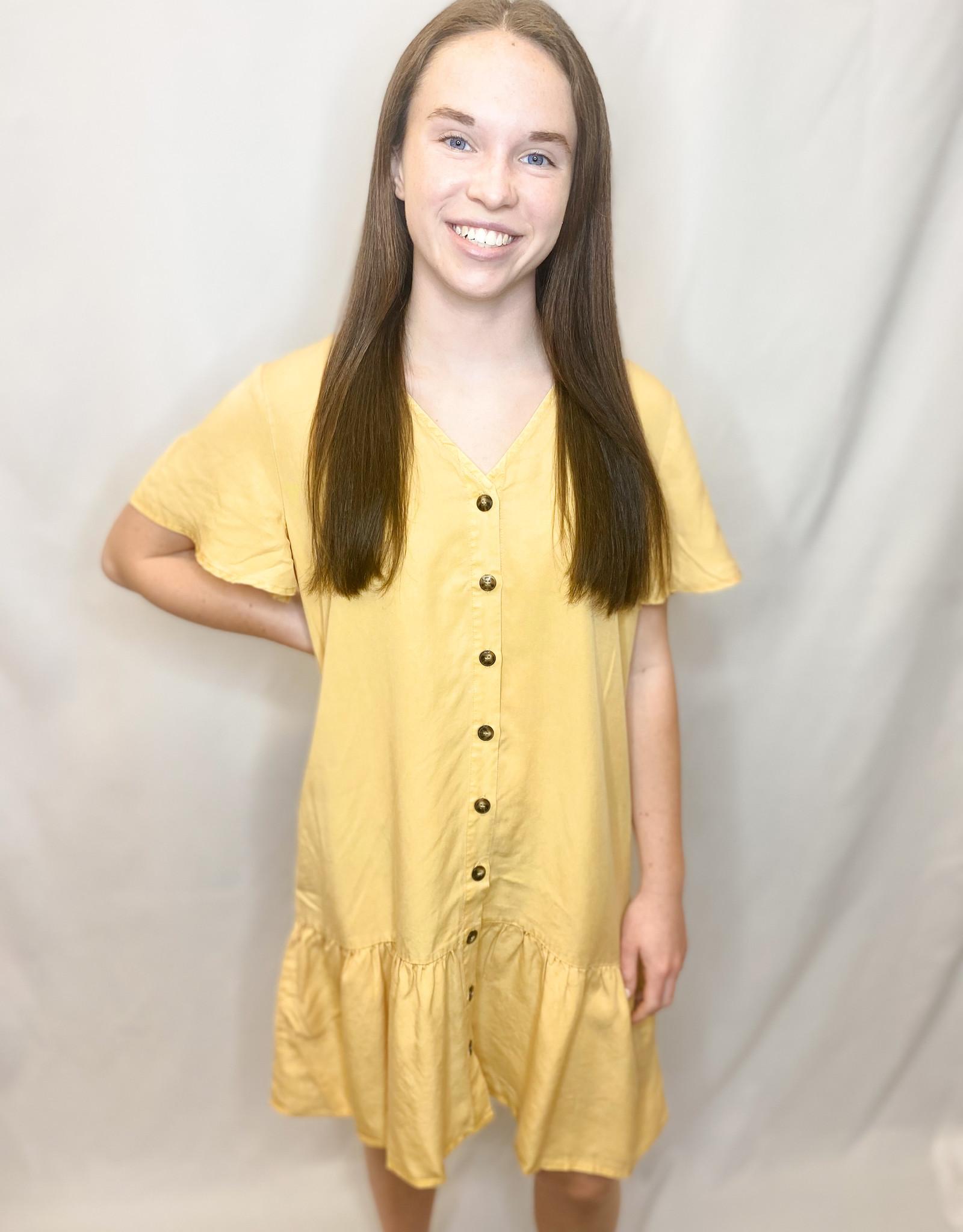 Mango Button-Up Dress
