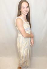 Summer Stripe Midi Dress