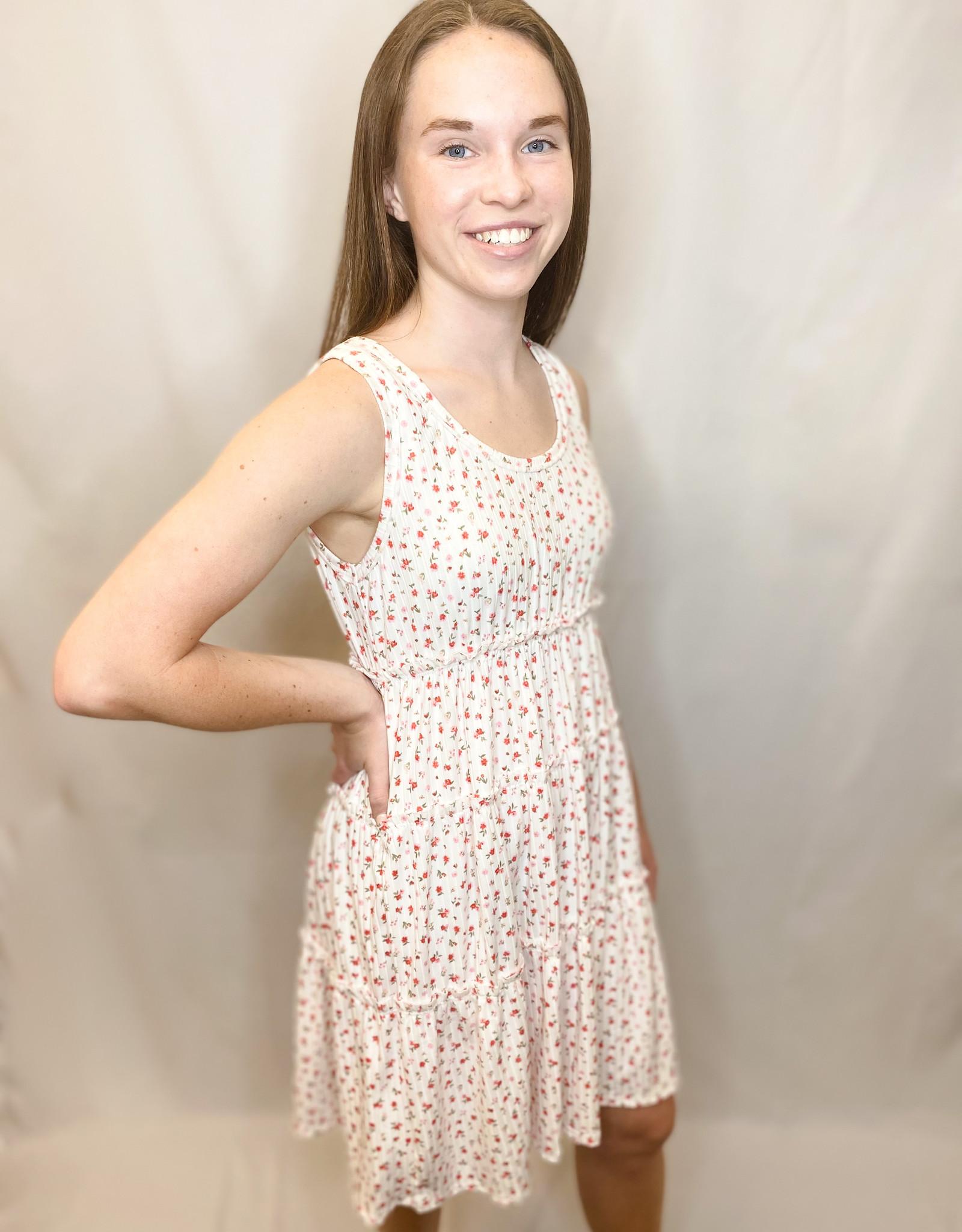 Blossom Ribbed Dress