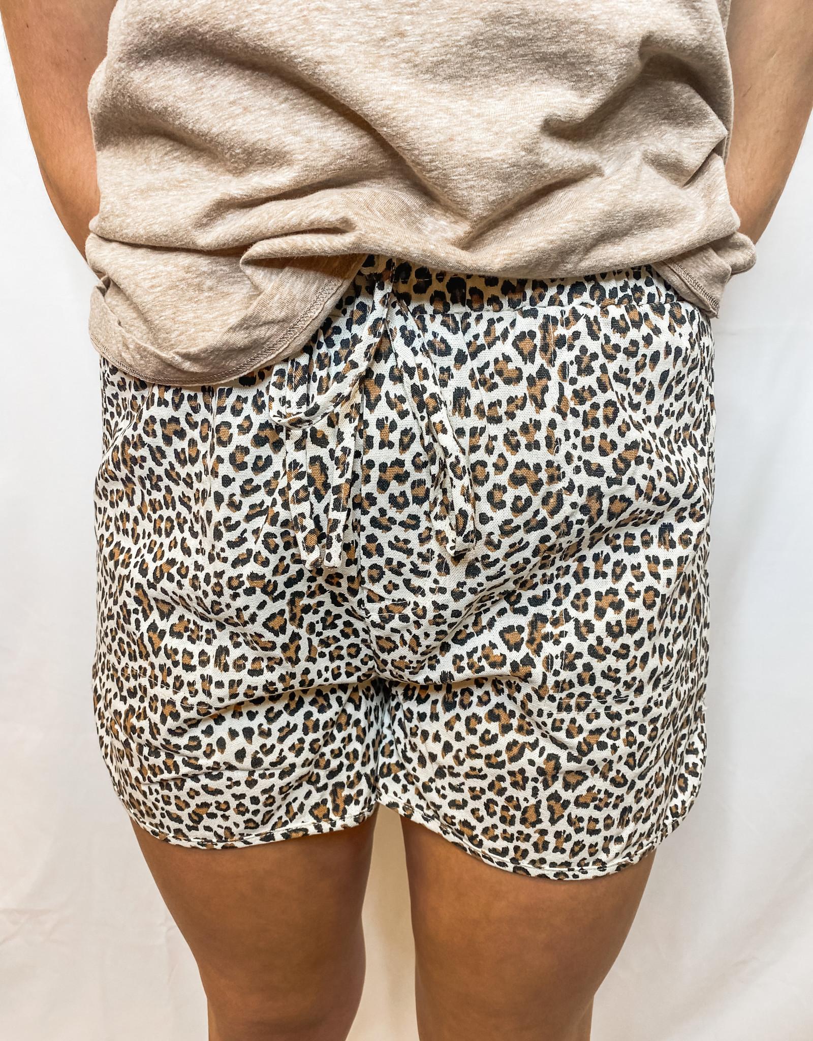 Sporty Leopard Short