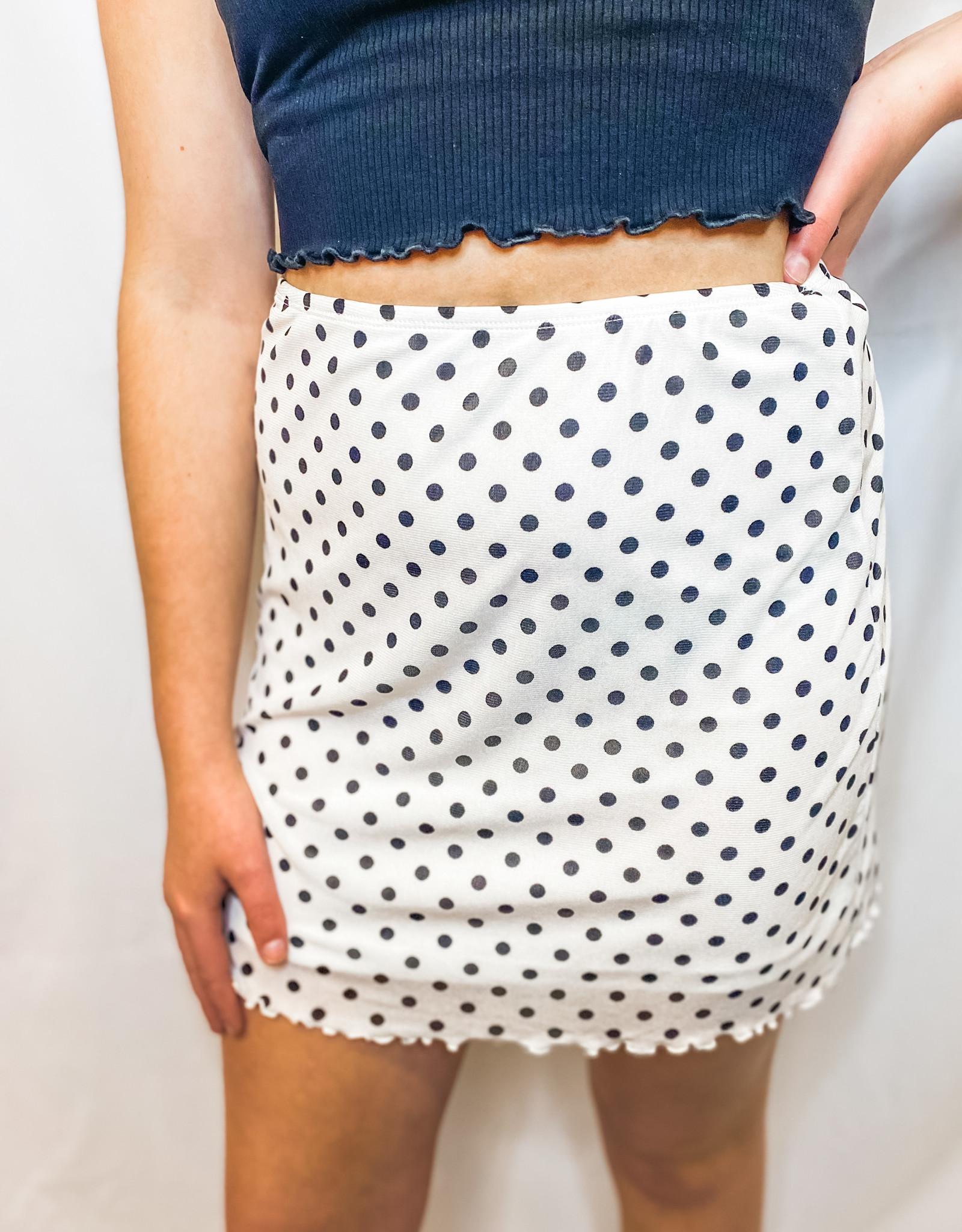 Minnie Polka Dot Skirt