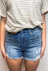 High-rise Cut-off Shorts