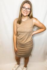 Melanie Mocha Dress