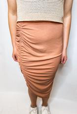 Sporty Skirt - Brick