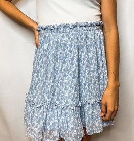 Misty Blue Skirt