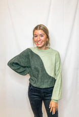 Yin Green Sweater