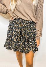Abstract Mini Skirt
