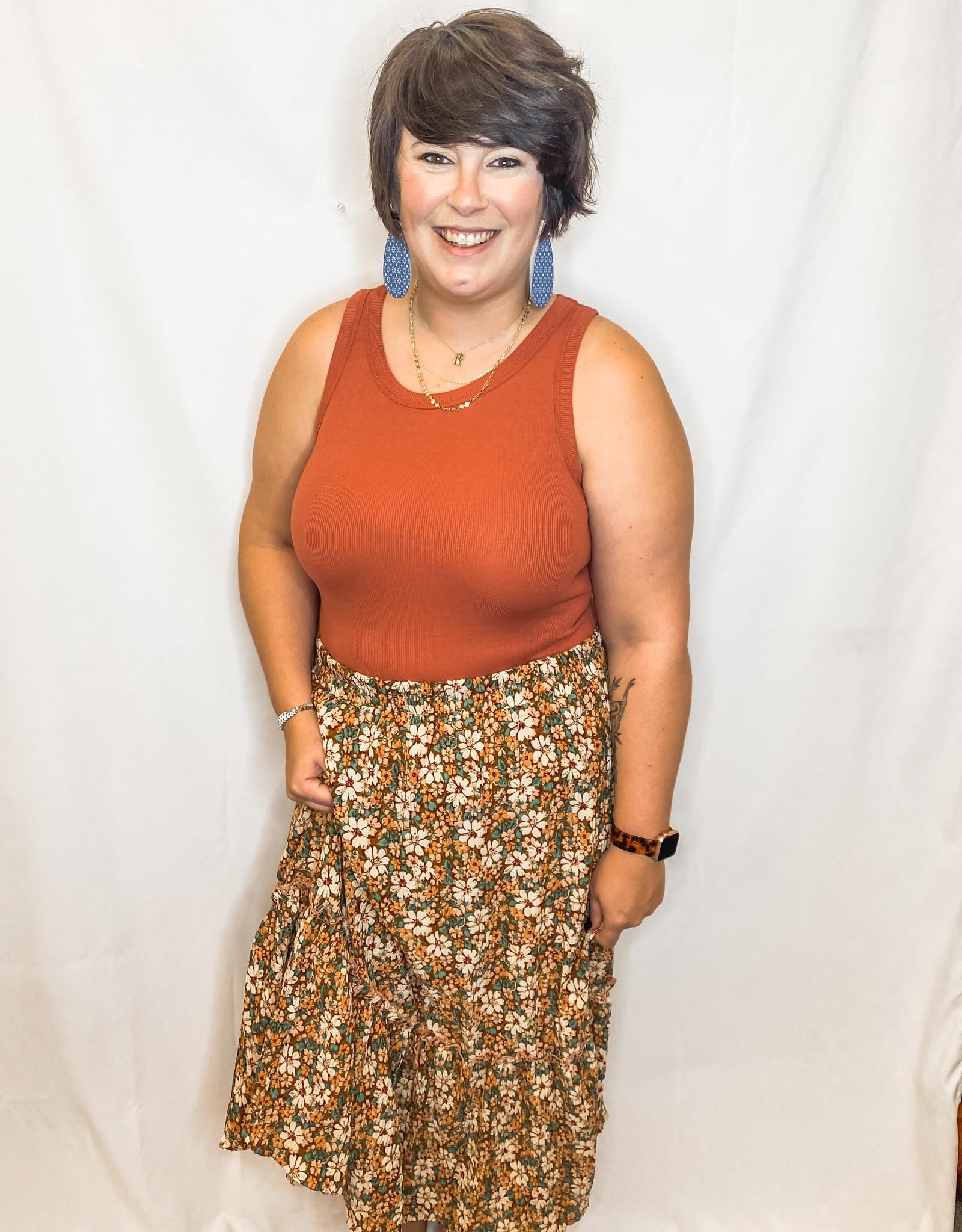 Woodland Midi Skirt