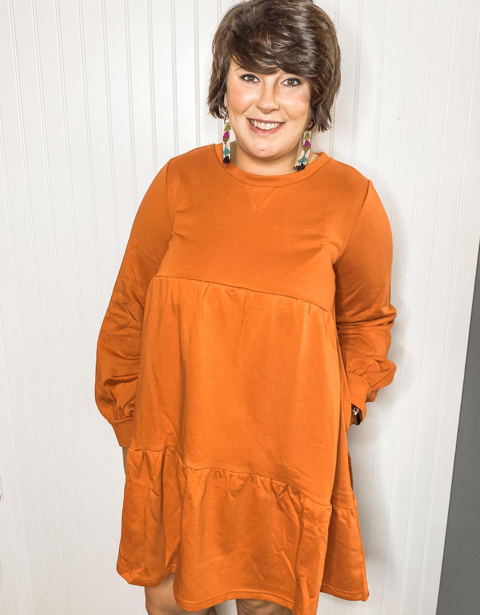 Pumpkin Longsleeve Tunic